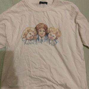 Brandy Melville angels T shirt